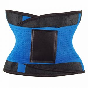 ae088e4b48 Size S Waist Trimmer Belt Back Support Adjustable Abdominal Elastic Waist  Trainer Hourglass Body Shaper