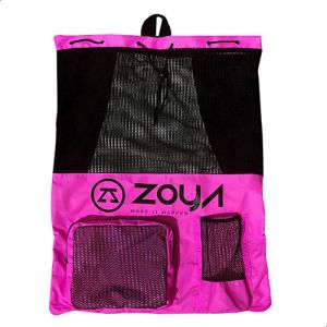 6a392d74db Zoya One Strap Backpack For Girls - Fuscia Black