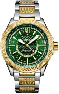 8dc700ea6 JBW Men's Globetrotter World GMT 0.21 ctw Diamond Two-Tone 18K Gold-Plated  Stainless Steel Watch - J6365-10D