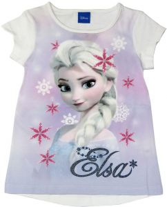 Character   Kids - Disney Frozen Elsa White Cotton shirt 2d66bab24