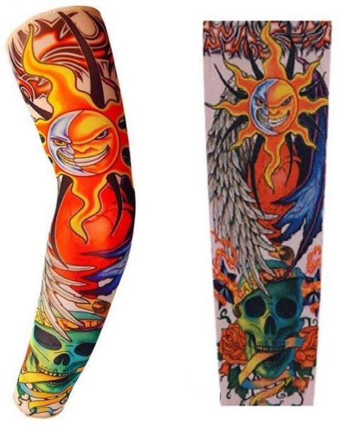 One Piece Arm Sleeve Cover, Sun Protective Uv, Tattoo arm cooling ...