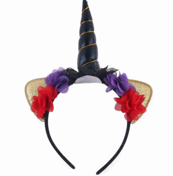Little Burberry Headband Children s Unicorn Party Headband Halloween ... 0ab8e162973