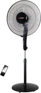 Elekta 16 inch 5 Blades Stand Fan with Remote control & Tropical Climate