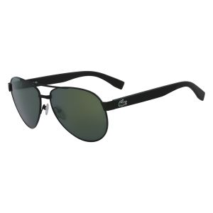 c0c2a065b6 Lacoste Aviator Unisex Sunglasses - Dark Brown Lens
