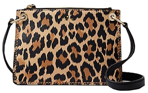 ff04e02483a8 Kate Spade Dunne Lane Leopard Print Caro Crossbody Bag - Multi Color ...