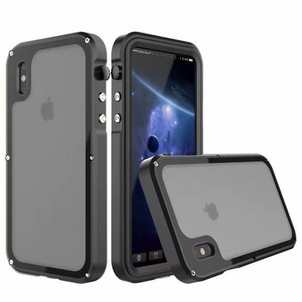 Full Sealed Waterproof Cases for iPhone X Shockproof Dirtproof Diving  Underwater Case for iPhone X