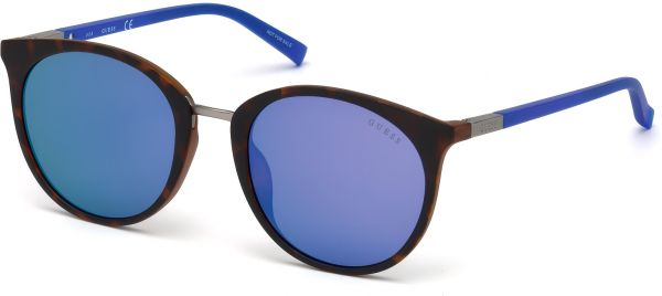 Guess Oval Unisex's Sunglasses - GU3022 - 52-20-135mm