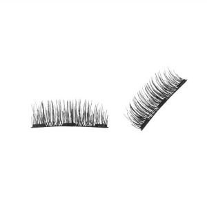 36a05c2a258 Magnetic False Eyelashes , Ultra Thin 3D Fiber Reusable Best Fake Lashes  Extension for Natural and Reusable Fake Eyelashes Natural Look, 1 Pairs (4  Pieces) ...