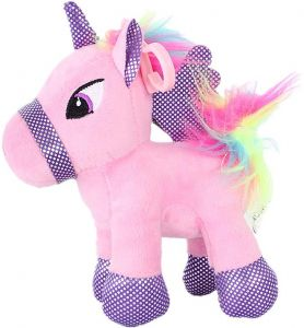 07fdd81026a Unicorn Stuffed Animal - Cute Unicorn Gifts 15cm pink Unicorns Plush Toy  Rainbow Hair Gift Packaged for Graduation