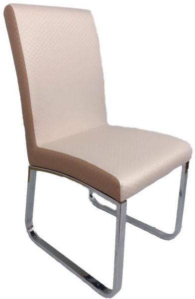 179.00 ????  sc 1 st  Souq.com & bow stainless steel pu cushion backrest dining chair -sets of 2 ...