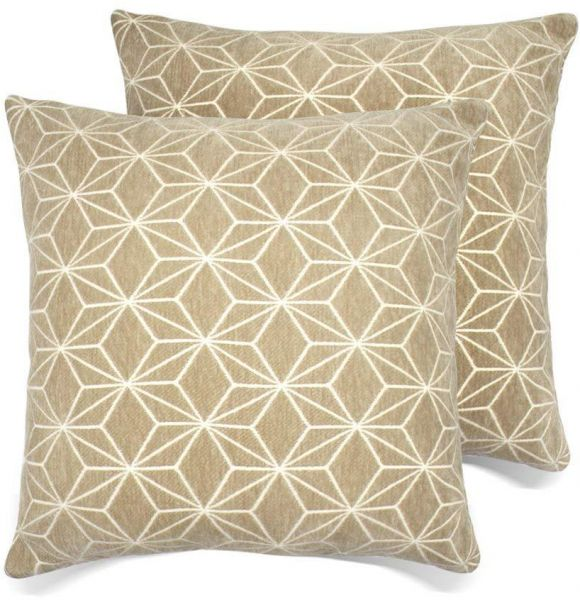 Buy Set Of 40 Throw Pillow Covers Coastal Cushions 40% Cotton Home Custom Zippered Decorative Pillow Covers