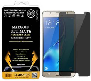 Margoun for Samsung Galaxy J5 2016 / J510 (5.2 inch) Privacy Anti-Spy Screen Guard Tempered Glass screen Protector- Protects your data from people, ...
