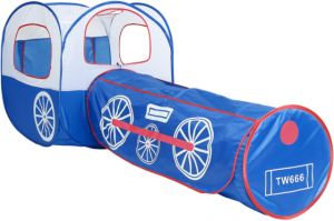 Portable Toys 2 In 1 Blue Locomotive Tent Children Game House Tunnel Toy Foldable Toy Tents For Kid-ek  sc 1 st  Souq.com & Buy 2017 tent tunnel kid | Sarsan ToysPacific Play TentsBrainydeal ...