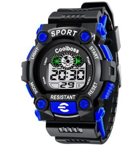afb3164669 Kids Mens Sport Digital Watch Student Electronic Multifunction Luminous  Watches
