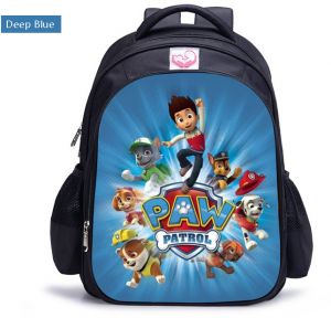 b5e9ccf26fa Wang Wang team Dagong dog patrol team Animal Prints Cartoon bag children s  shoulders kindergarten pupils 1-6 grade boy