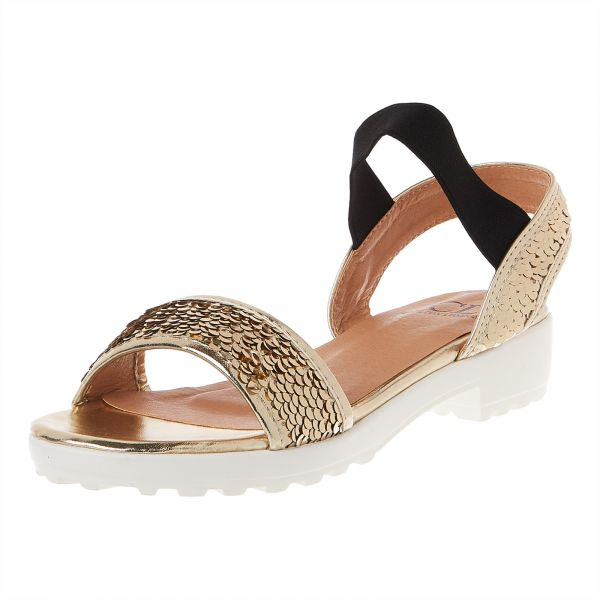 69147240c Carlton London Flat Sandals for Women - Gold