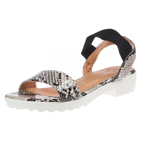 41972136d Carlton London Flat Sandals for Women - Black