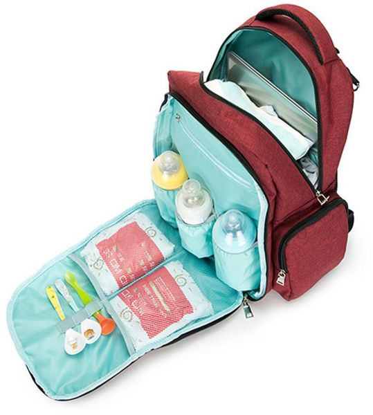 2970769bb648 Waterproof Baby Care Diaper Bag Multifunction Mummy Maternity Nursing Bag  Baby Travel Backpack Nappy Changing Bag