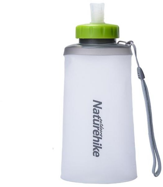 Portable Silicone Folding Drinkware With Straw Bicycle Water Bottle 750ML Sport Bottle Water Bottles Outdoor Cup