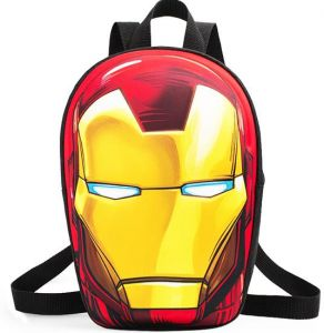 b3d17b145ff6 ... schoolboy backpack iron man children backpack avengers double shoulder  kindergarten bag preschool travel bag Kid Boy and Girl Cartoon Bag School  bag ...