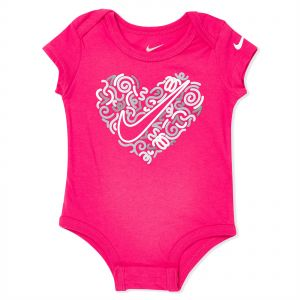 Nike Squiggle Heart Bodysuit - 6 - 9 Months cde07c1c9