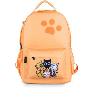 a89095bd8fcb Girl Waterproof nylon School bag 14 inch Laptop Backpack Travel Bag Cartoon  Cute Elephant Schoolbag-xsq