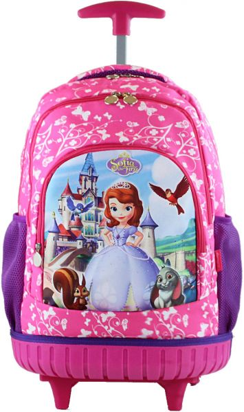 Sofia Kids  Rolling Latop School trolley Backpack 17inch 3-12years old. by  Other 14bb5a94f5610