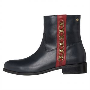fe7eb4996cd Tommy Hilfiger Black Pull On Boot For Women