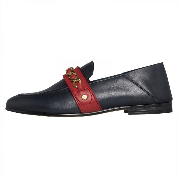 31e2f73467ebb3 Tommy Hilfiger Loafers   Moccasian Shoes for Women - Navy Blue