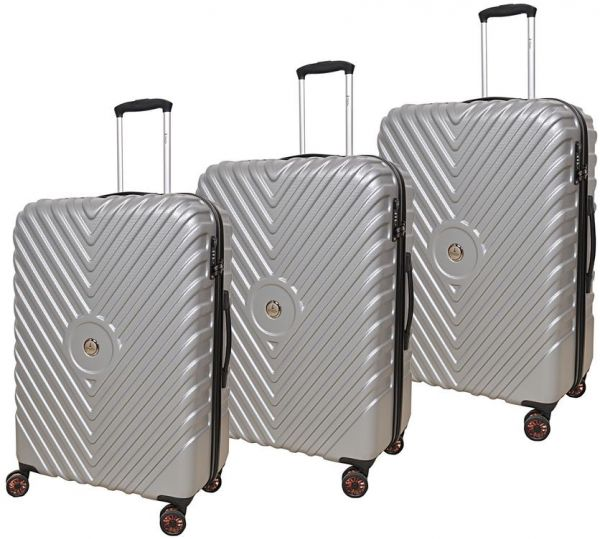 Track Luggage Trolley Bags Set of 3 Pieces 8c99ba2995590