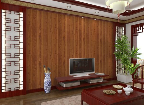 Floor Wood Grain Wallpaper Modern Style Clical The Plank Brief For Bedroom Living Room Tv Background Roll Es Souq Uae