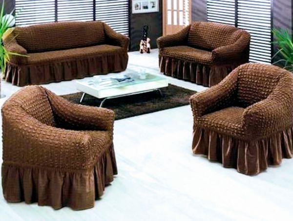 Sofa Cover Set Turkish Model 4 Pieces Cosist Of Sofa Cover For