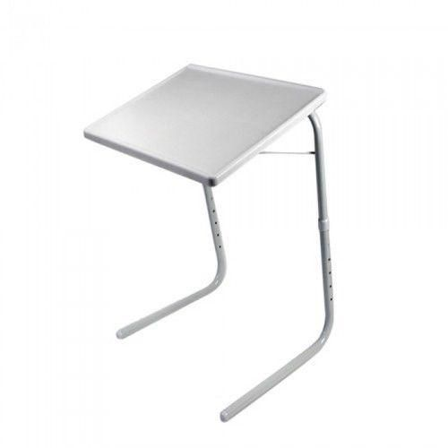 Small Desk Mate Foldable Table Folding Adjustable Tray Table