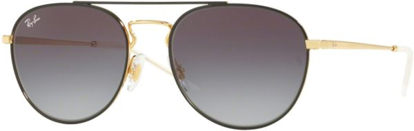 87385d67d4 Ray-Ban Unisex Aviator Sunglasses - RB3589 90548G55 - 55-18-140 mm