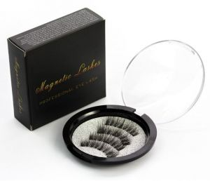8a59b8478f2 Magnet Eyelashes Lashes Magnets 3D Reusable Hand-made Extension Soft False  Eyelashes Lash Magnetic No Glue for Natural Look 24P-3