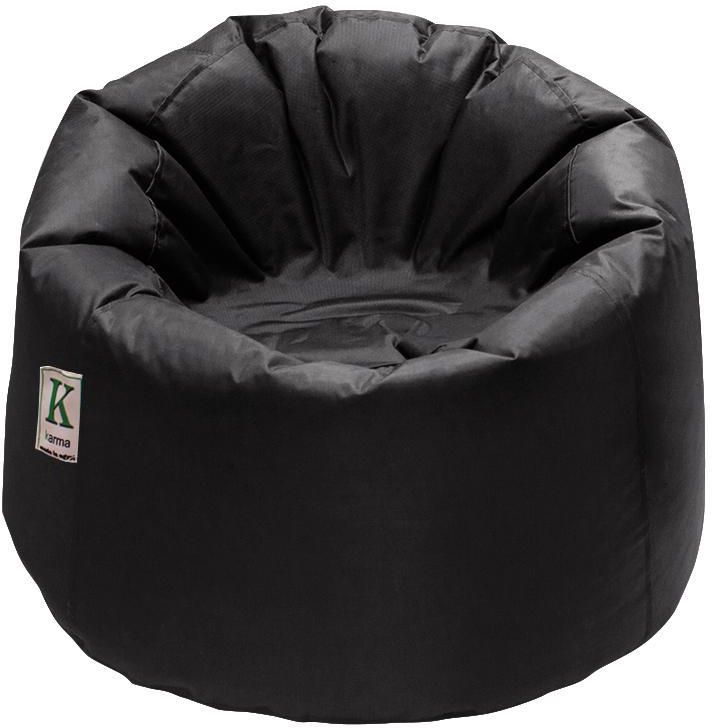 Bean Bag from Karma Made from PVC In door and out door waterproof Color Black