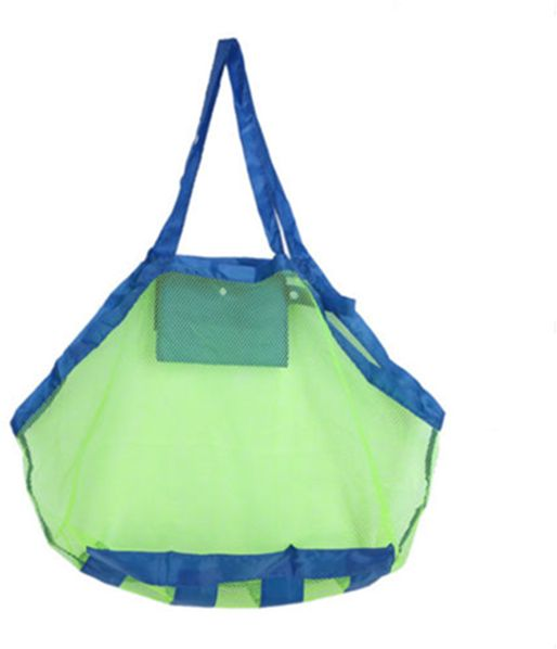Large Mesh Beach Bag Tote Sand Toy S Bags Away From Or Water For Holding Children Toys Swimming Equipment Storage Other Items