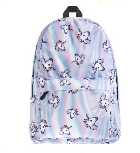 Oxford space unicorn backpack pattern women bag schoolbags for teenage girls  backpack d2e2e1504f4ce