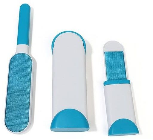 Pet Fur Hair Remover Brush With Self Cleaning Base