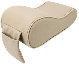 Car Seat Cover Soft Leather Auto Center Armrest Console Box Armrest Seat  Protective Pad