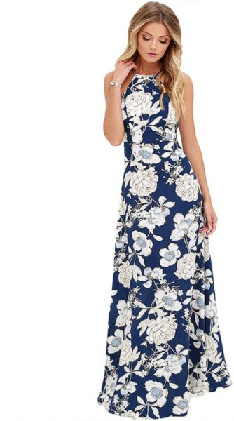 6bf61183dd Floral Print Summer Long Maxi Dress Off Shoulder Women Causal Beach Party  Dresses. by Other, Dresses - Be the first to rate this product