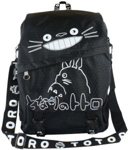 Japanese comic cute totoro pattern large capacity one strap backpack  student backpack 21917caaaed49