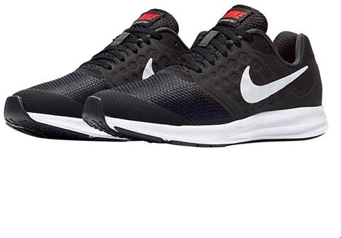 c8ab87f18f226 Nike Downshifter 7 Little Sports Sneakers For Unisex - Black White ...