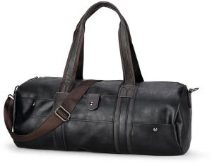 Style; In Qualified Mens New Leather Large Capacity Business Portable Travel Bag Europe And The United States Retro Outdoor Duffel Bag Fashionable