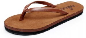 7858d76468f Flip-flop unisex summer slip sandals couple beach shoes Europe and America  toe suede men and women Heel Casual slippers