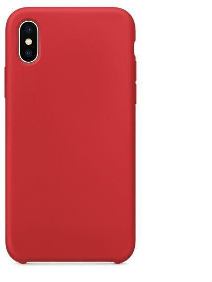 Apple iPhone X Silicone case - Red color