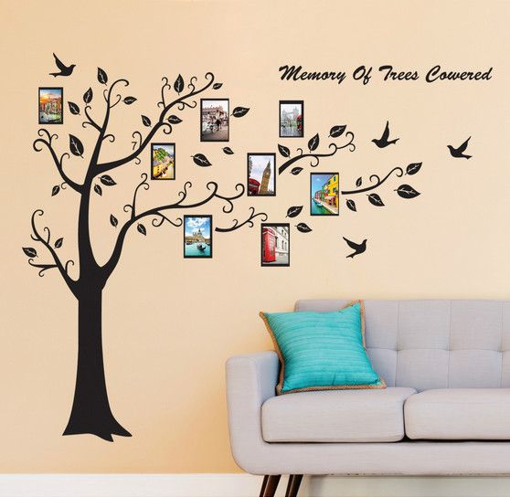 Souq | Large Family Tree Wall Decal Removable DIY Photo Frames Wall ...