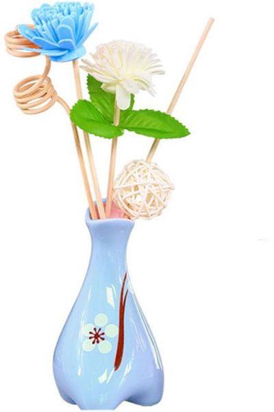 Decorative Reed Diffuser Vase For Home Decor Accents And Office