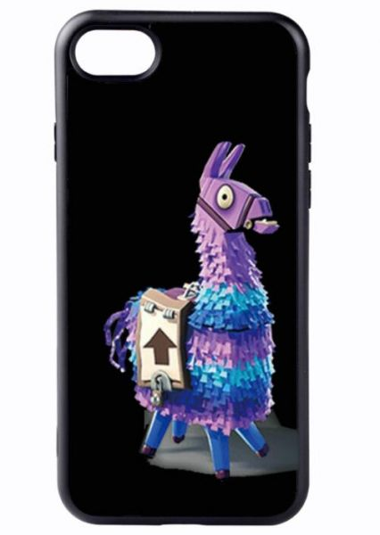 size 40 40ef7 ee6aa FORTNITE Slim Fit iPhone 7 plus case, Hard Full protector cover  anti-scratch Ultra Thin Compatible apple 7 plus shell Space Black