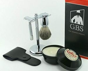ebec6674a2bd GBS Men s Wet Grooming Set with Italian Omega Shaving Cream